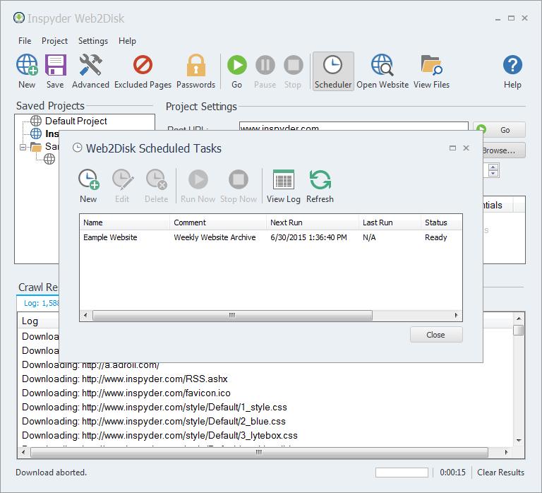 Inspyder Web2Disk 5.1.4